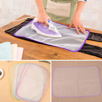 1X Heat Resistant Ironing Cloth Protective Insulation Home Ironing Mat Mesh RK