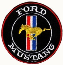 Mustang Ford Motorsport Racing Car Automobile Logo Applique Iron on Patch