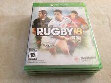 Rugby 18 (Microsoft Xbox One, 2017) NEW