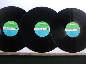 WOODSTOCK 3 LPs RARE original made in Japan + 2 inserts + 5 POSTERS