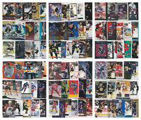 NHL Hockey Player Lots - Choose From List - RCs Inserts (30-50 Cards) LOOK
