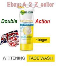 Garnier Light Cimplete Duo Action Skin whitening Fight Dark spot Face wash 100g