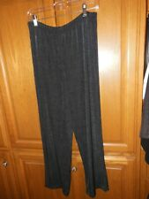 New Chico's Travelers Collection Black  Essential Pants Size 2