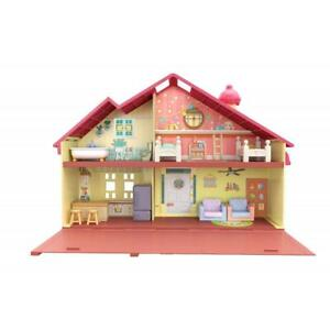 Bluey Family Home 2.5 To 3 Inches Figure With Home Playset Big Size Blue NEW