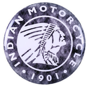 Indian Motorcycle Circle Icon Logo Metal Sign 2860762