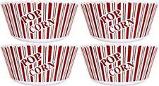 Popcorn Serving Bowl Set of 4 - Large Size 10