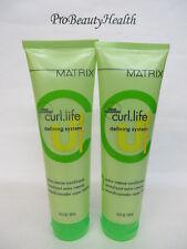 MATRIX CURL LIFE Intense Conditioner 8.5 oz ea   2 tubes