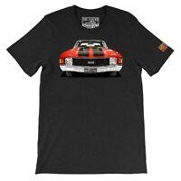 Your Custom Car T-shirt, 1972 chevelle SS, Vintage Car Art Gift T-shirts