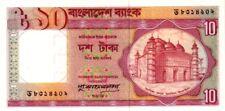 Bangladesh 1996 billet neuf de 10 taka pick 26c signature 3 UNC