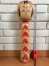 17 inch 44cm Big Large Kokeshi Mitsuo Sato Togatta-kei Japan  Vintage Wood Doll
