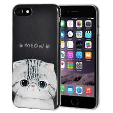 Soft Gel Premium TPU Graphic Skin Case Cover for iPhone 6 6s - Kitten Meow