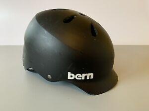 Bern Watts Helmet - Small To Medium - Black - Great Condition