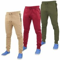 New Mens Designer ENTT Skinny Slim Pants Joggers Casual Trousers Jogging Bottoms