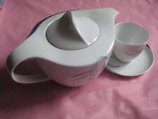 schick+dezent gemustert-3 teiliges Porzellan-Set für 1 Person der Marke Arzberg