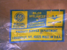 AUTO NOS GENERAL ELECTRIC APPLIANCE BEARING WHEEL AND RACE PT# WY33X11