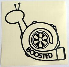 adesivo Boosted Snail TURBO sticker decal KKK turbina STI S13 S14 garrett IHI