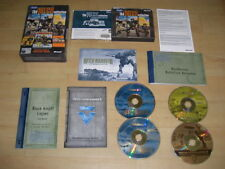 THE MECH COLLECTION MechWarrior 4 VENGEANCE & BLACK KNIGHT + MECH COMMANDER 2 Pc