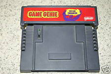 New SNES Nintendo 16 bit Game Genie Galoob Version 1.0 Works version 1 systems