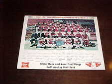 1979 Rochester Red Wings Minor League Baseball Color Team Photo