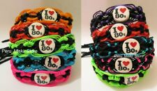 50 I LOVE 80s FRIENDSHIP BRACELETS - HANDMADE with ceramic beads