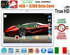 TABLET 10 POLLICI 3G OCTA CORE 8x2.0GHz 4GB RAM 32GB ROM ANDROID 5.1 2 SIM wifi