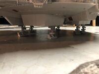 Star Wars Legacy Millennium Falcon Parts Landing Gear Complete Set 3D print