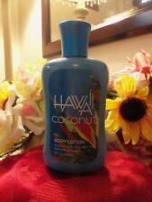 NWT Bath & Body Works HAWAII COCONUT Body Lotion 8 fl.oz.  RETIRED & HTF