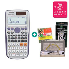 Casio FX 991 ES PLUS calcolatrice + geometrieset apprendimento GARANZIA CD