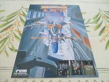 >> THUNDER BLASTER IREM SHOOT ARCADE ORIGINAL JAPAN HANDBILL FLYER CHIRASHI! <<