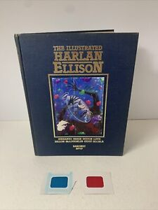 The Illustrated Harlan Ellison hardcover HC Steranko Signed! limited 2544/3000