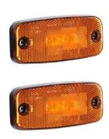 59312 Ricambi Camper Luce ingombro Led Laterale Ambidestra Arancione PPG