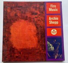 "Archie Shepp LP ""Fire Music"" IMPULSE A-86 MONO Gatefold Van Gelder"