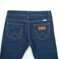 Wrangler - Twiggy Mid Rise Skinny Blue Stretch Denim Jeans Women's Size 8 W27