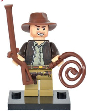 Indiana Jones Minifigure The Kingdom of the Crystal Skull CUSTOM LEGO