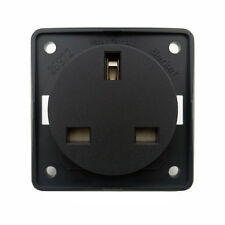 BERKER 230V 13A 3-PIN BRITISH PLUG SOCKET FOR CAMPERVAN MOTORHOME CARAVAN