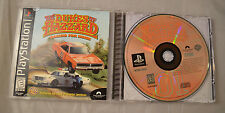 Dukes of Hazzard Racing for Home Playstation PS1 Complete Black Label SLUS-00859