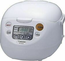 Zojirushi Micom Rice Cooker and Warmer White 5 Cup