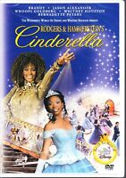 Rodgers & Hammersteins CINDERELLA (1997) WHITNEY HOUSTON BRANDY REGION 1 DVD