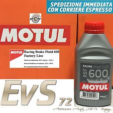 MOTUL RBF 600 FACTORY LINE DOT 4 Liquid BRAKES AND CLUTCHES Hydraulic SINT