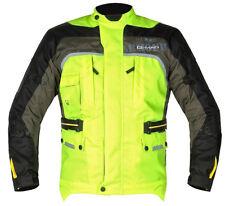 GMAC Pilot Waterproof Scooter Motorbike Motorcycle Jacket Yellow/Black S-XXL