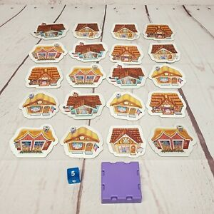 Disney Princess Gowns and Crowns Game Replacement Pieces 20 Tokens Die Top