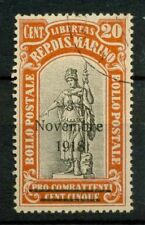 San Marino 1918 Sass. 63 Used 100% Victory Celebration