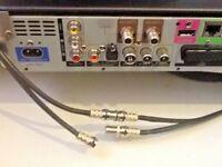 Sky+ HD SKY Q SKY Q ULTRA  TV HD Connector Joiner Repair Kit for twin shotgun 4