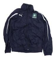 Puma Mens Size M Graphic Blue Jacket