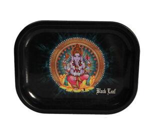 Black Leaf' Rolling Tray 'Ganesha' S