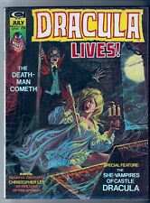 Dracula Lives #7 Marvel Comics 1974 VG/FN