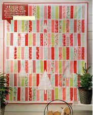 White Christmas Quilt Pattern Pieced/Applique BG
