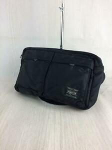 Porter Yoshida black waist/belt bag Made in Japan