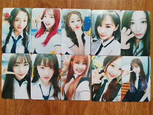 Unofficial Fanmade Card SET Pristin GUGUDAN WEKI MEKI wekimeki ELRIS CLC