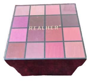 RealHer Lipstick Collection, 16 pieces, 12 MOISTURIZING+4 MATTE LIQUID NEW SALE